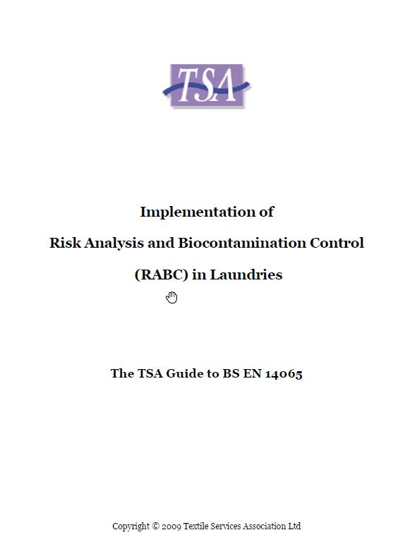 TSA Members Guide to BS EN14065