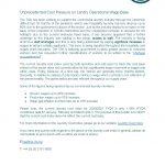 TSA Laundry Cost Index Bulletin - June 2021